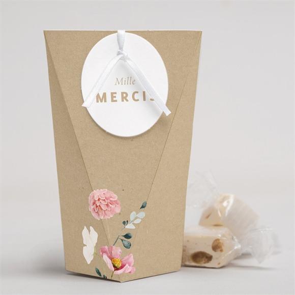 Boîte surprise mariage Champêtre et Poésie réf.N52038