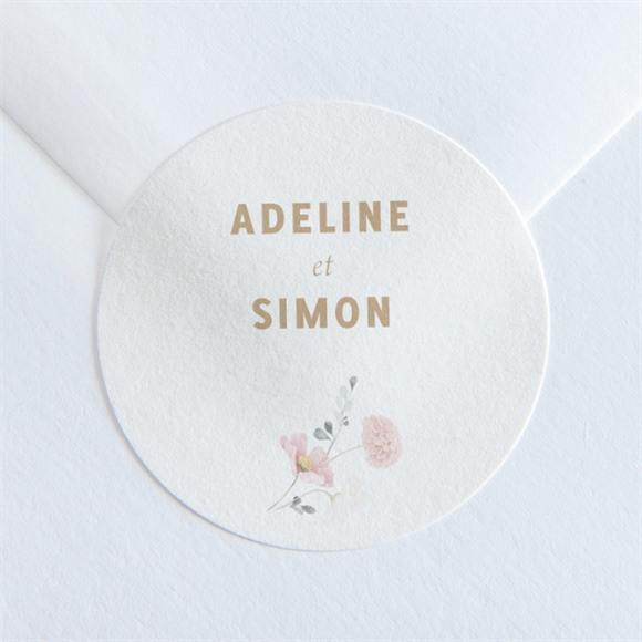 Sticker mariage Champêtre et Poésie réf.N360164
