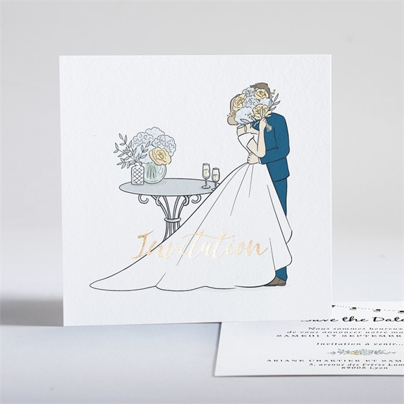Save the Date mariage Intimes réf.N351187