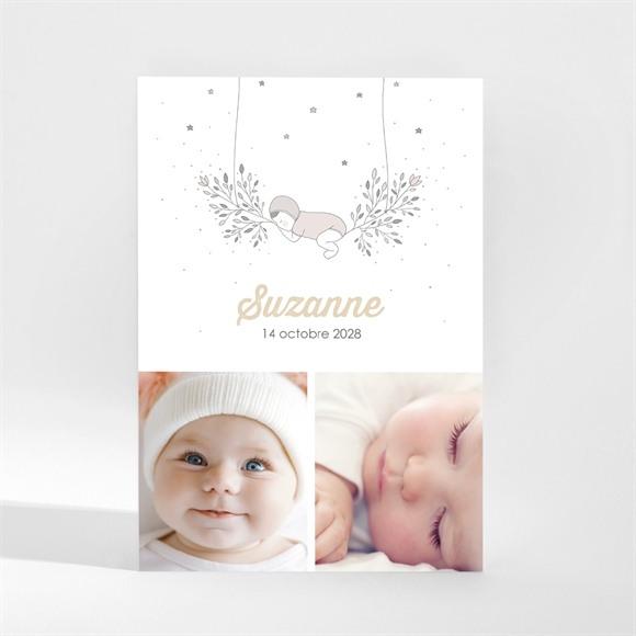 Faire-part naissance Ma Petite Sieste réf.N21074