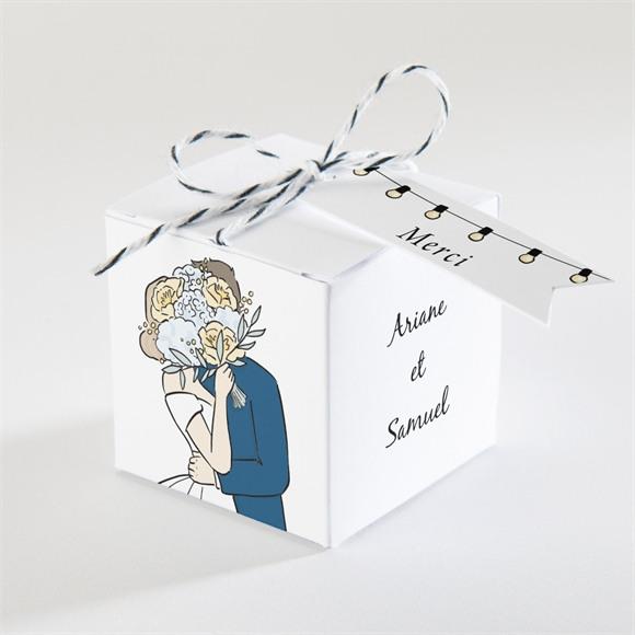 Boîte de dragées mariage Intimes réf.N340364