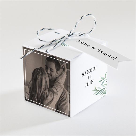 Boîte de dragées mariage A la Folie ! réf.N340354