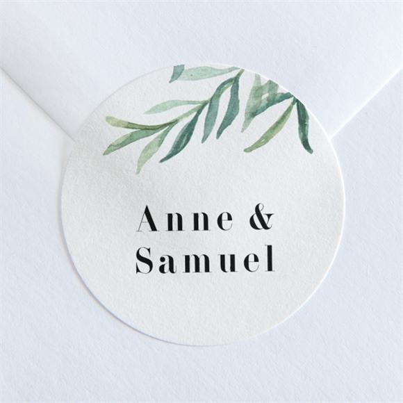 Sticker mariage A la Folie ! réf.N360175
