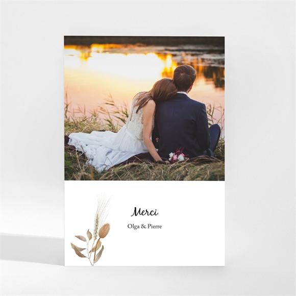 Remerciement mariage Notre Bouquet d'Automne Magnet réf.N21062