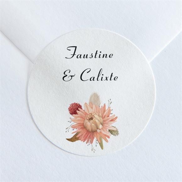 Sticker mariage En délicatesse réf.N360178