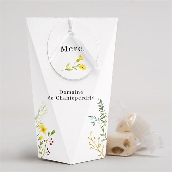Boîte surprise mariage Fleurs des Champs réf.N52051