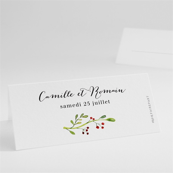 Marque-place mariage Fleurs des Champs réf.N440791