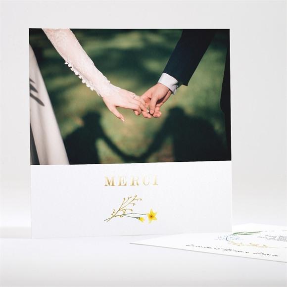 Remerciement mariage Fleurs des Champs réf.N351192