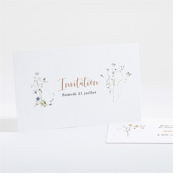 Carton d'invitation mariage Complicité réf.N161185