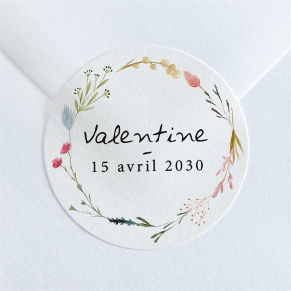 Sticker naissance Poésie réf.N360220