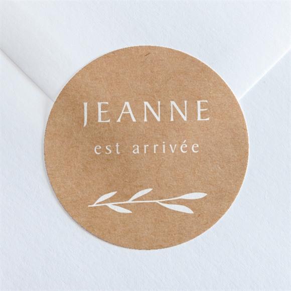 Sticker naissance Faire-part Enveloppe réf.N360234