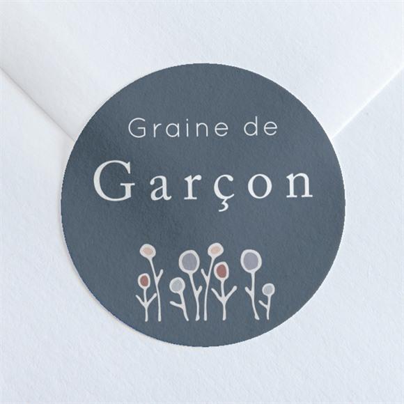 Sticker naissance Graine de garçon réf.N360242