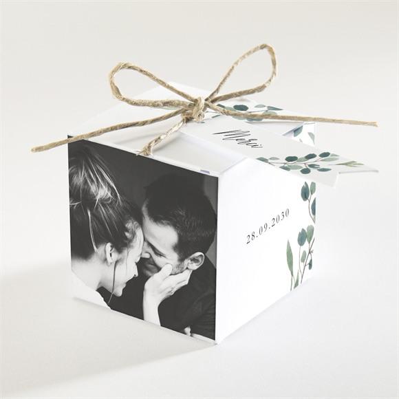 Boîte de dragées mariage Bouquet provençal réf.N340376