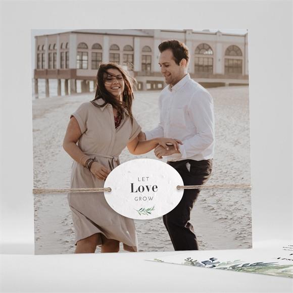 Remerciement mariage Délicatesse d'Aquarelle réf.N351183
