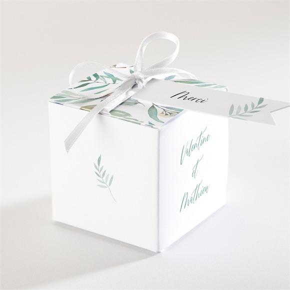 Boîte de dragées mariage Délicat réf.N340369