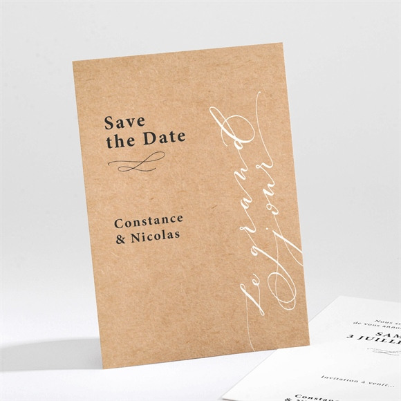 Save the Date mariage Photomaton réf.N211314