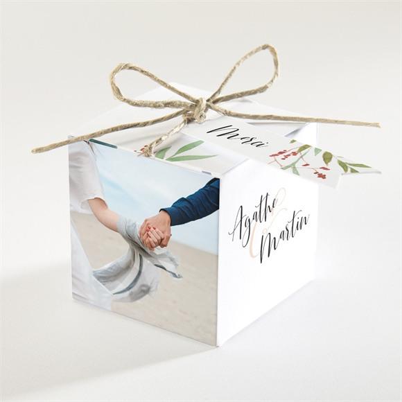 Boîte de dragées mariage Bouquet ardent réf.N340377