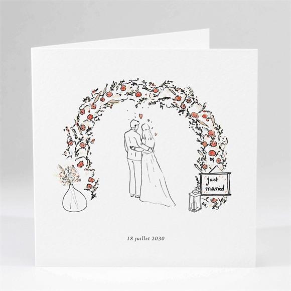 Faire-part mariage Belle Intimité réf.N451247